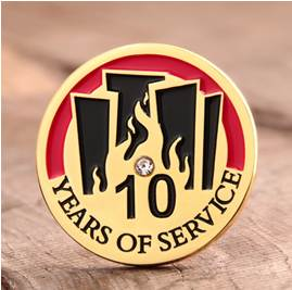 10-years-Service-Lapel-Pins
