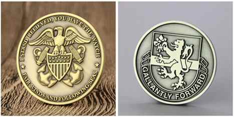 2D coin and 3D coin