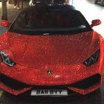 Benz with a million Swarovski diamonds 2
