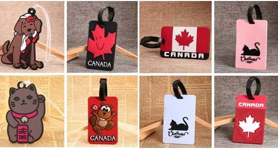 GS-JJ soft PVC luggage tag