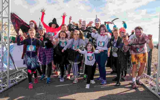 Halloween Fun Run for the Sussex Beacon 2017