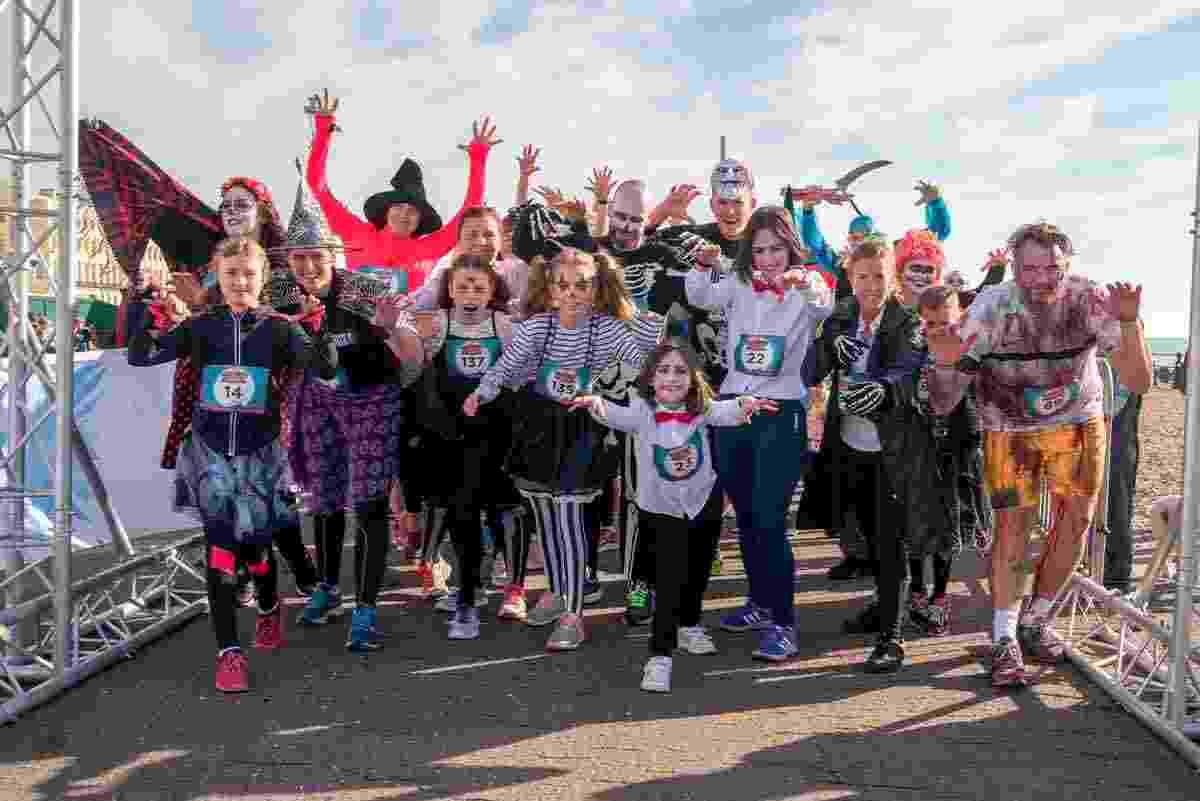 Halloween Fun Run for the Sussex Beacon 2017