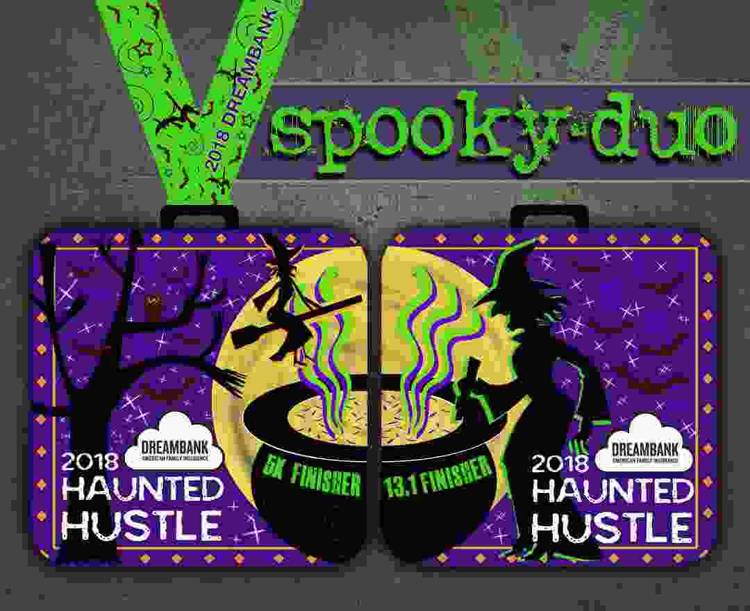 Haunted Hustle Medals