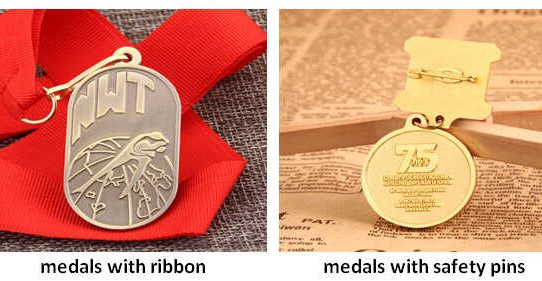 Medals with Different Attachments