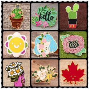 Plant Style Fashion Pins