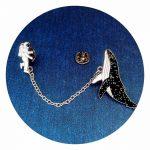 chain lapel pins