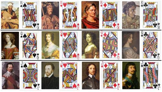 The 12 Historical Figures Hidden In Playing Cards