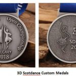 Two-Tone Medals