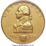 Washington Birth Bicentennial challenge coins