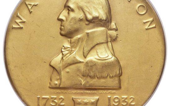 Washington Birth Bicentennial challenge coins