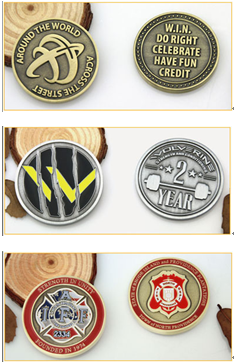 What are the different terms used for challenge coin