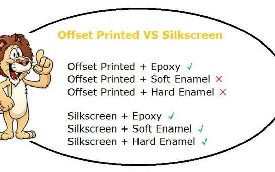 Offset Printed VS Silkscreen