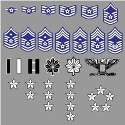 Air Force Rank Insignia
