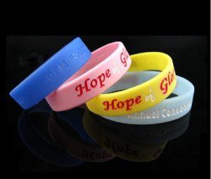 HOPE Custom Wristbands