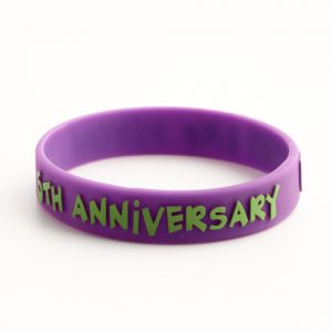 Custom silicone wristbands used as souvenirs