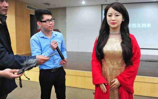 Jia Jia women robot
