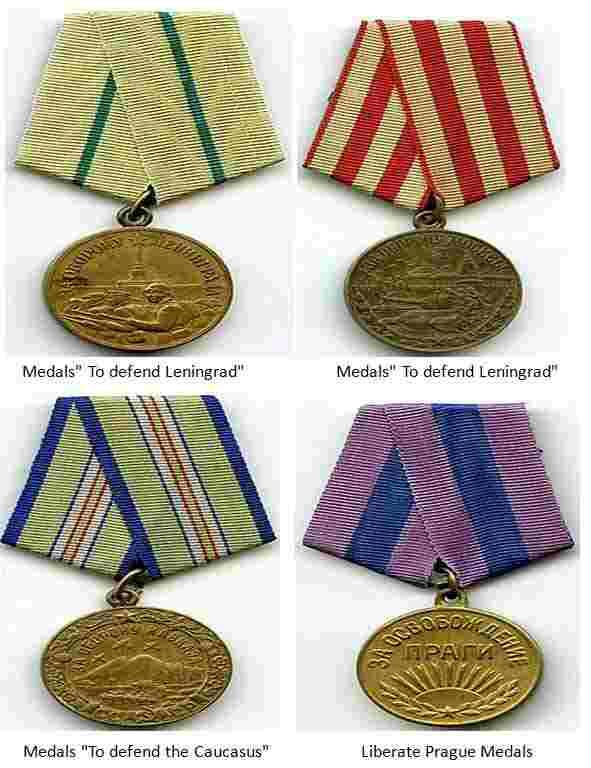 Major Battle Medals