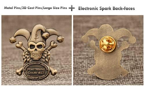 Metal Pins/3D Cast Pins