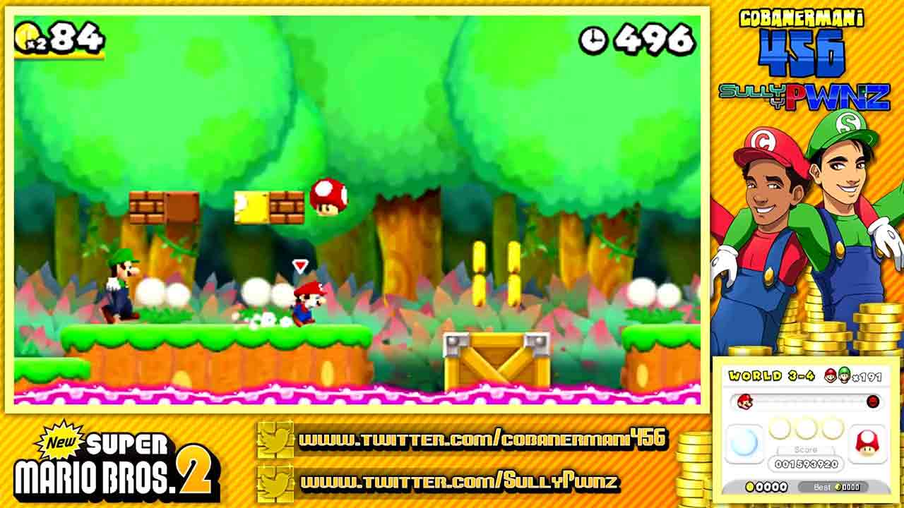 c) Collecting Medals: Doing well is collecting; doing badly is picking up trash! Players need to complete element collection in the game to unlock the trophy. In general, games with a little conscience will set up multiple small collection medals, such as jumping one medal after collecting an item or when the total collection rate reaches 25%/50%, so as to guide players to gradually take the bait, and finally encourage them to complete the large collection cup with 100% elements. This medal can increase the fun of the game. In the << New Super Mario Bros. 2 >> , even if the game has no official achievements, players are willing to try the all-stars or all-moon collection challenge.