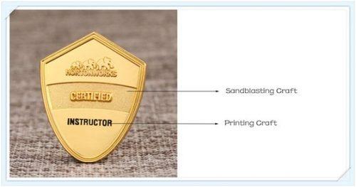 Sandblasting with printing craft