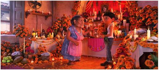 "The movie ""Coco"""