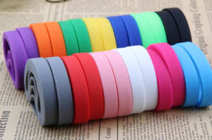 Various Colors of Blank Wristbands