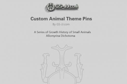 custom animal theme pins