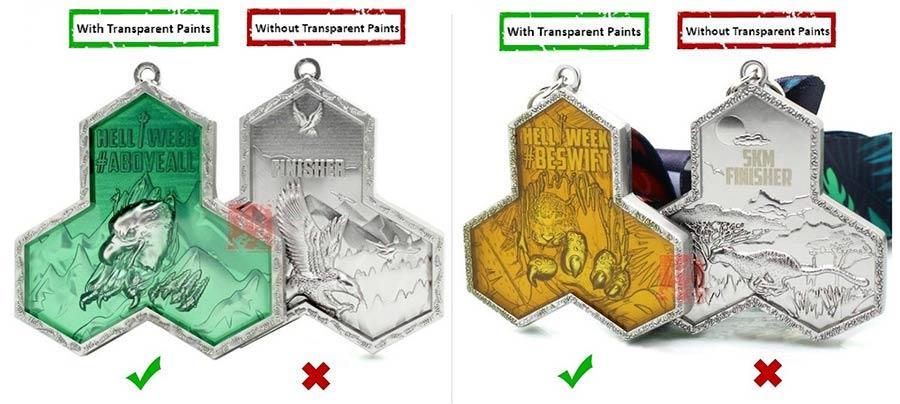 Custom Transparent Enamel Pins