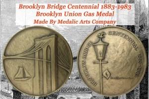 Brooklyn Bridge Centennial Commemorative Coin