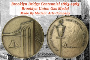 Brooklyn Bridge Centennial Commemorative Coin