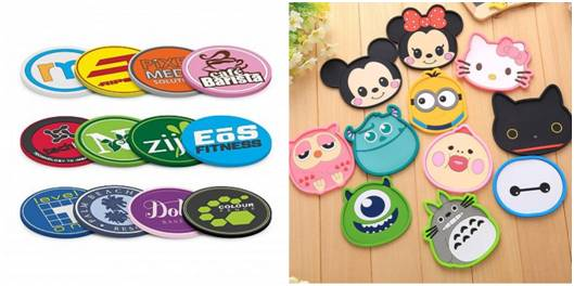 Customize PVC Coasters