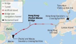 Hong kong-Zhuhai-Macau Bridge structure
