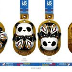 Rotating Running Medals