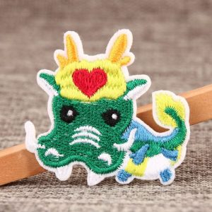 Dragons Embroidered Patches