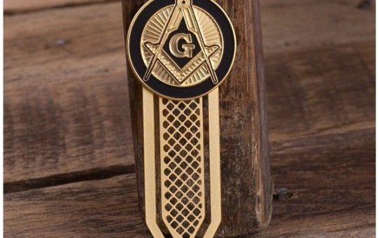 challenge coin bookmark