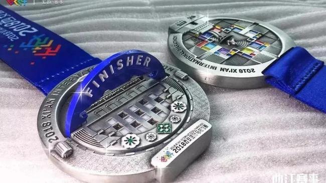 4D Running Medals