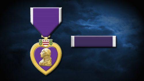 purple heart medals