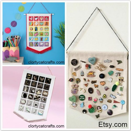 Creative and Cute Ways to Display Your Enamel Pins | GS-JJ com ™