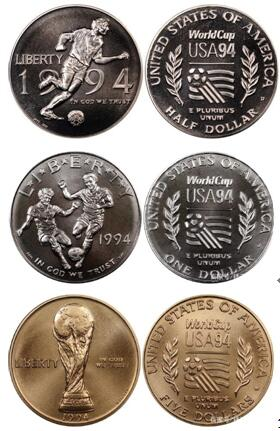 1994 US Commemorative Coins