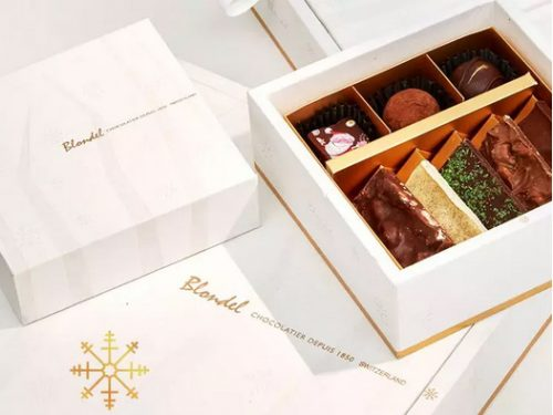 White Christmas Gift Box