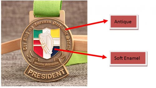The Paediatric Society Custom Medals