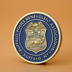 Buffalo Police Challenge Coins