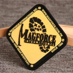 Custom Magforce PVC Patches