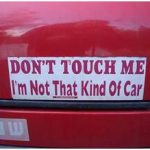 Funny Car Stickers