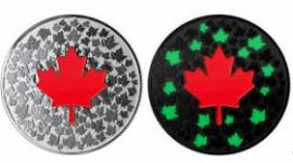 Glowing Challenge coin