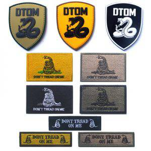 PVC patches and Embroidery Patches