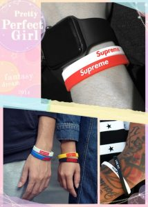 Wear a Group of Two Wristbands