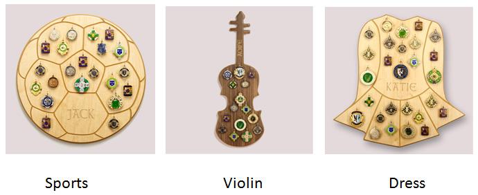 Wooden-Medal-Display