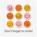 emoji circle stickers
