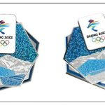 the First Limited Edition Commemorative Pin Of the 2022 Beijing Winter Olympic Games